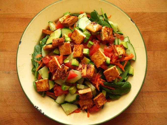 Le ricette di Agritalia: Samurai salad con insalata lollo verde