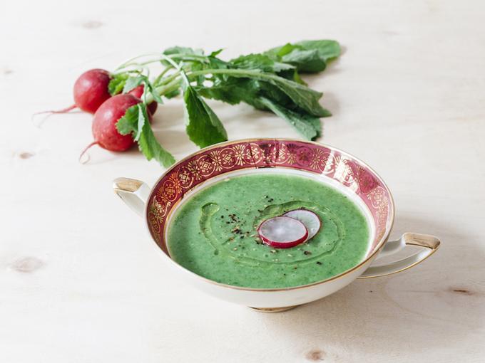 Le ricette di Agri Italia: Zuppa di foglie di ravanello