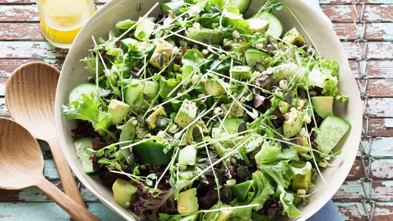 Lattuga lollo verde, l'insalata per eccellenza