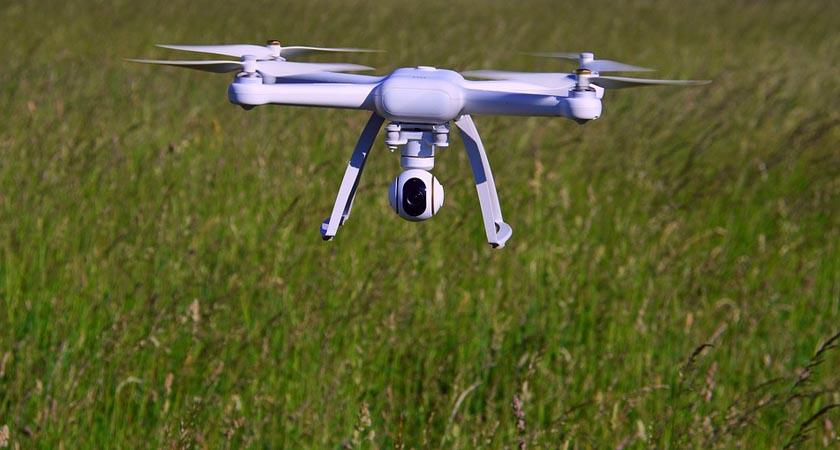 drone nell'agricoltura di precisione