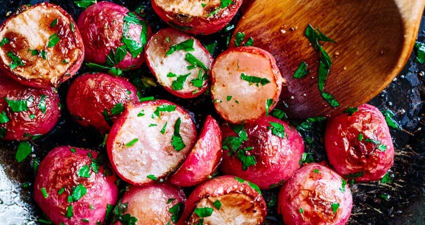 Come cucinare i ravanelli rossi